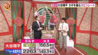 S☆1 「投手」大谷翔平を徹底分析&ノムさんvs松坂大輔 20180513