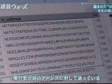 NHKスペシャル「仮想通貨ウォーズ~盗まれた580億円を追え!~」 20180516