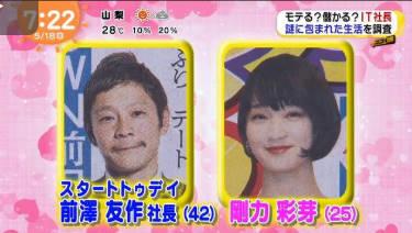 めざましテレビ 20180518
